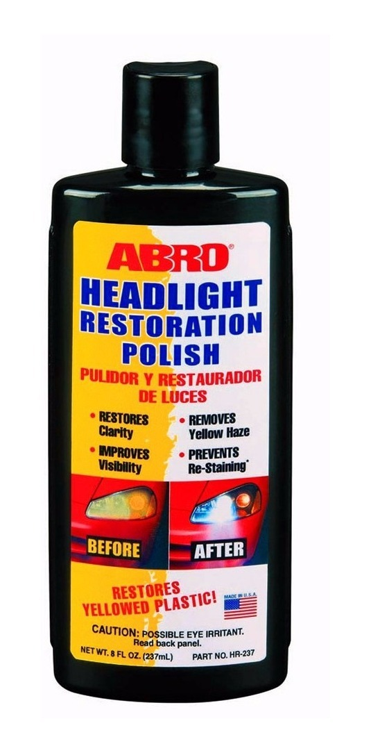 RESTAURADOR FAROL HEADLIGHT POLISH